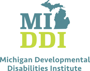 Michigan Developmental Disabilities Institute logo.